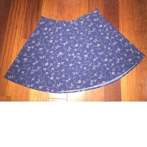Cope floral mini flare skirt Sz 8